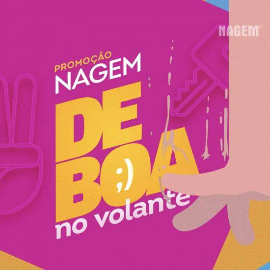 DE BOA NO VOLANTE